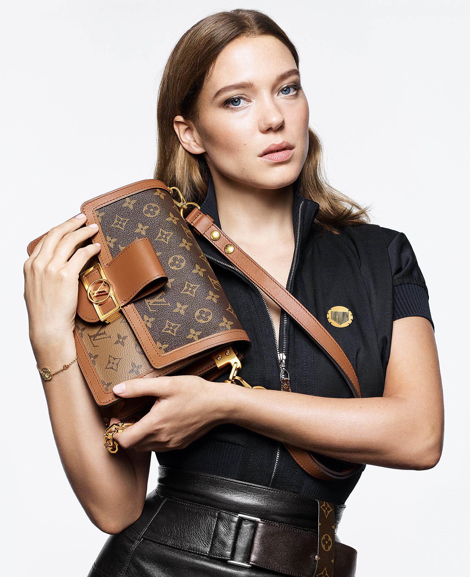 Lea-Seydoux-Stun-in-Louis-Vuitton's-Latest-Campaign - Lea Seydoux