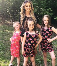 Leah Messer Corey Simms Jeremy Calvert Celeb Exes Who Are Crushing Coparenting