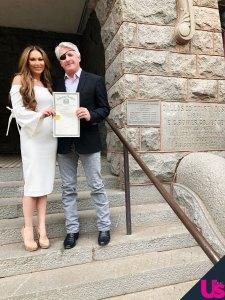 RHOD's LeeAnne Locken and Rich Emberlin Get Their Marriage License: Pic