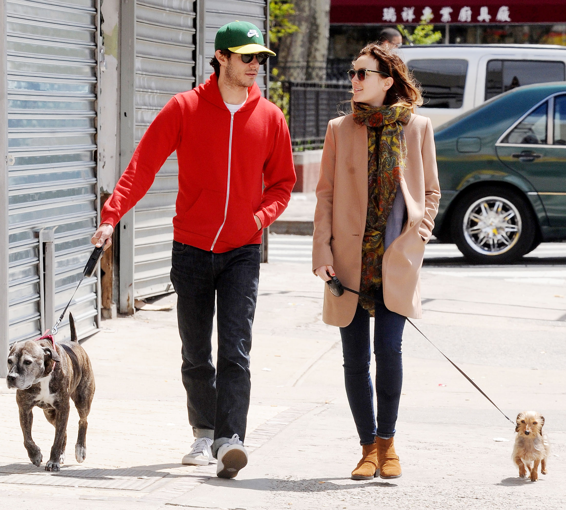 """Leighton Meester Adam Brody Relationship Timeline - Multiple sources exclusively revealed to Us in February 2014 that the lovebirds said """"I do"""" in an intimate ceremony in Northern California."""