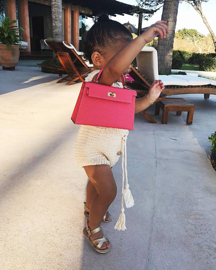 Like Mother, Like Daughter! Stormi 'Won't Let Go' of Pink Purse in New Video