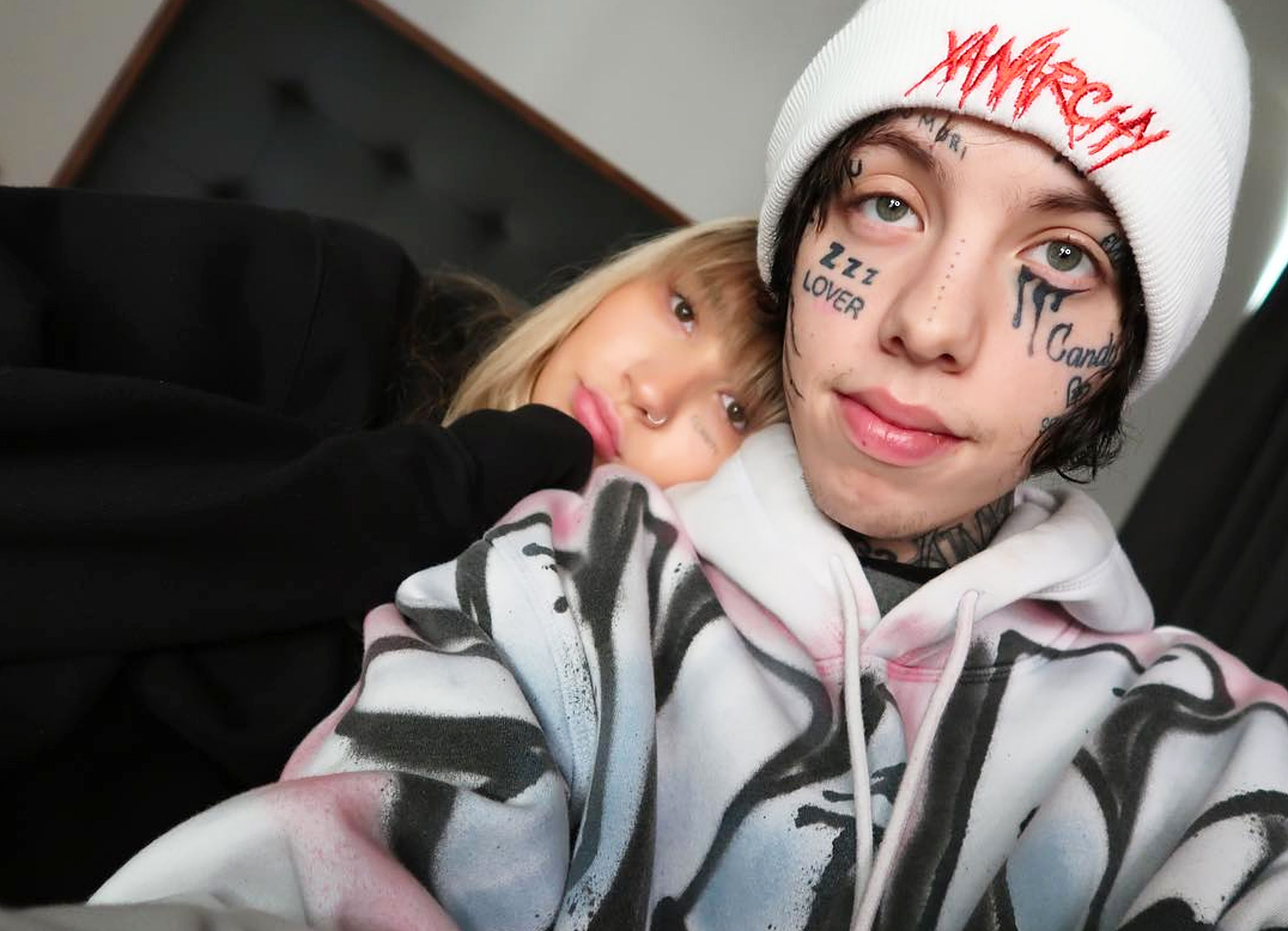 34a99c564e85f Lil Xan Addresses Speculation That Fiancee Annie Smith Faked Her Pregnancy  and Miscarriage: 'I'm 50/50'