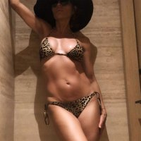 Lisa Rinna, 55, Is Body #Goals in an Animal-Print Bikini