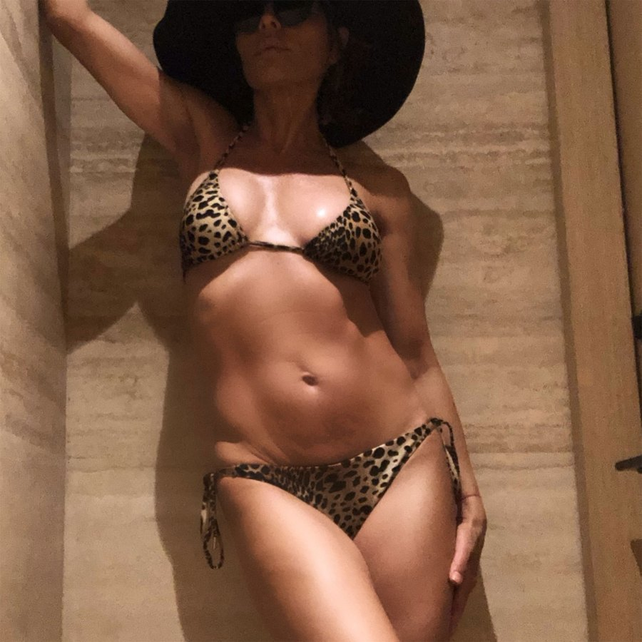 Lisa Rinna, 55, Is Body #Goals in an Animal-Print Bikini