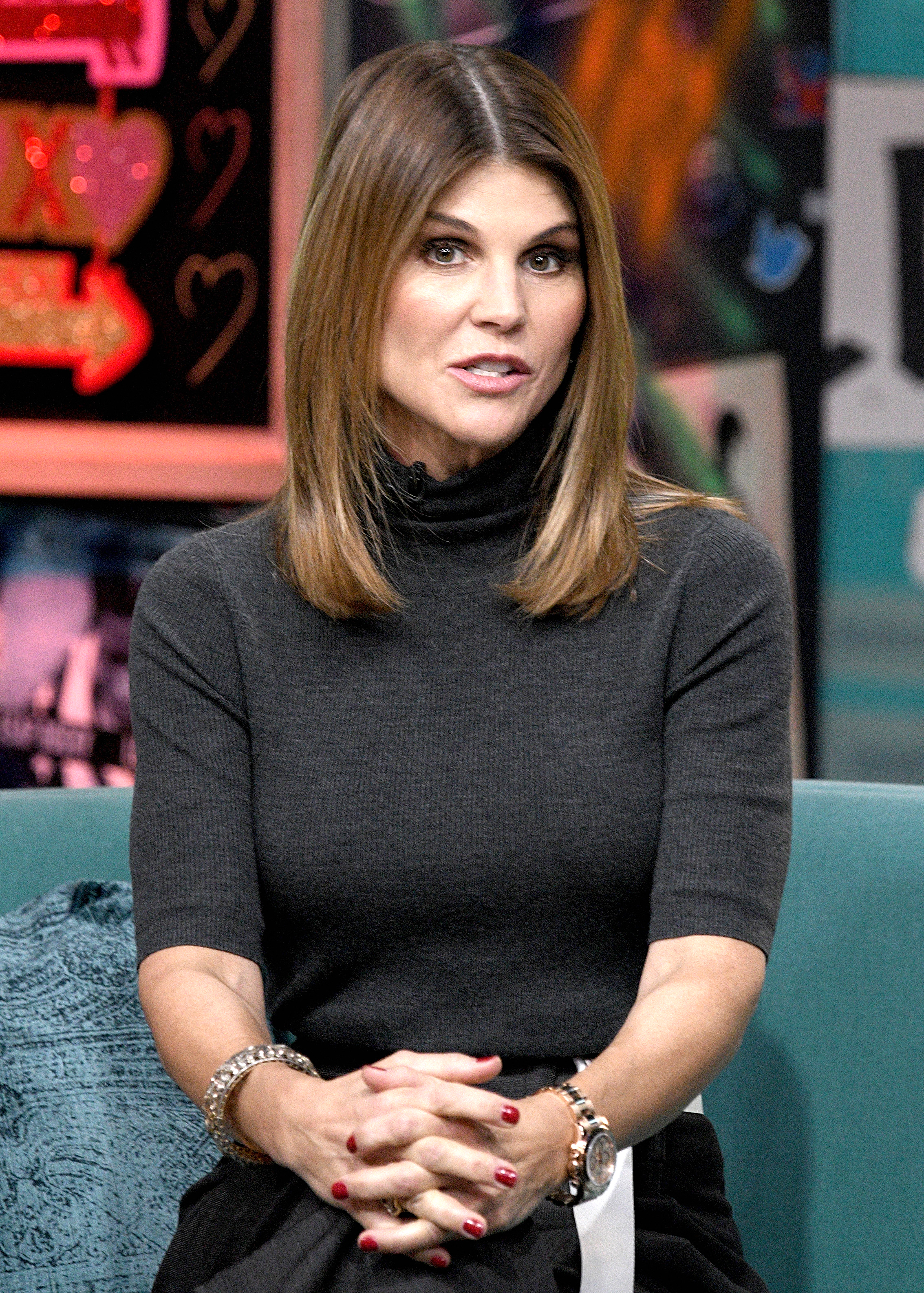 Lori Loughlin Hasn't Wanted to Leave Her House Amid College Admissions Scandal - Lori Loughlin visits the Build Brunch to discuss the Hallmark Channel TV series 'When Calls the Heart' on February 14, 2019 in New York City.