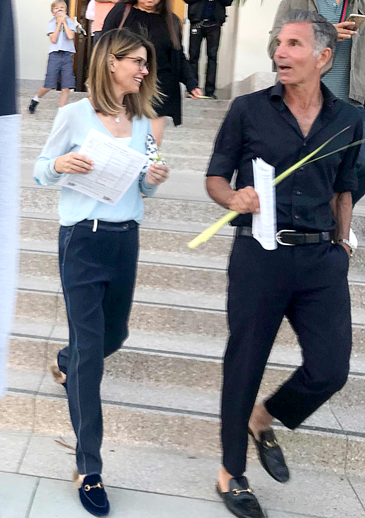 Lori-Loughlin,-Husband-Mossimo-Giannulli-Lead-Church-Procession