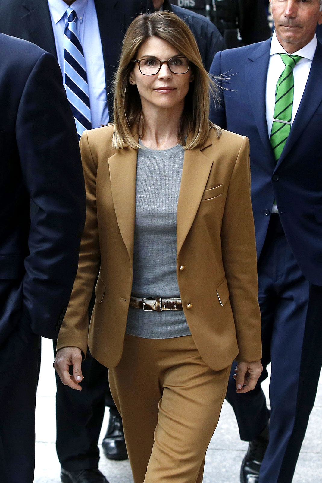 Lori Loughlin Could Spend Years Behind Bars - Lori Loughlin leaves the John Joseph Moakley United States Courthouse on April 3, 2019 in Boston, Massachusetts.