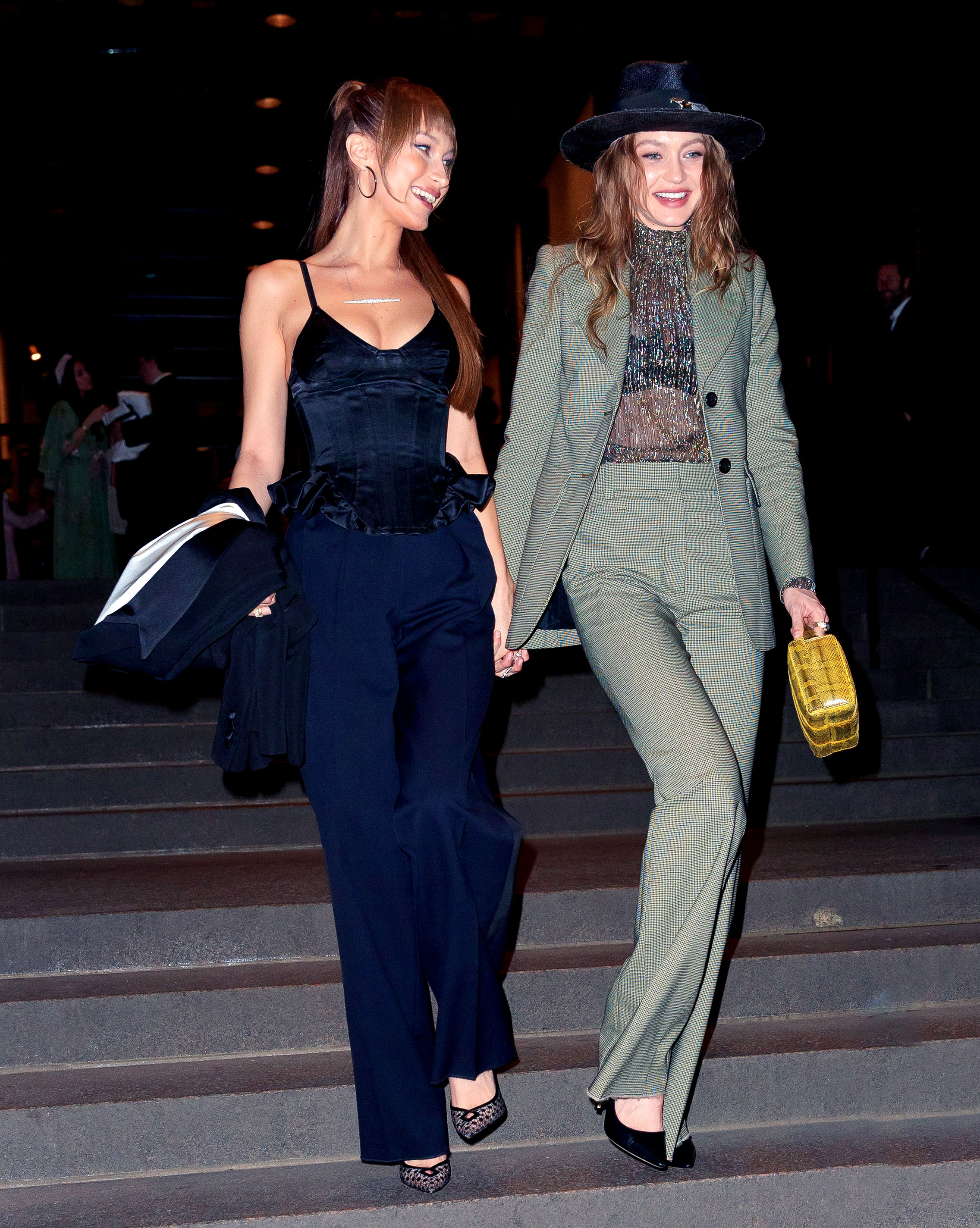 Marc-Jacob-and-Char-DeFrancesco-wedding-reception Gigi Hadid and Bella Hadid - Gigi and Bella looked gorgeous as they arrived together.