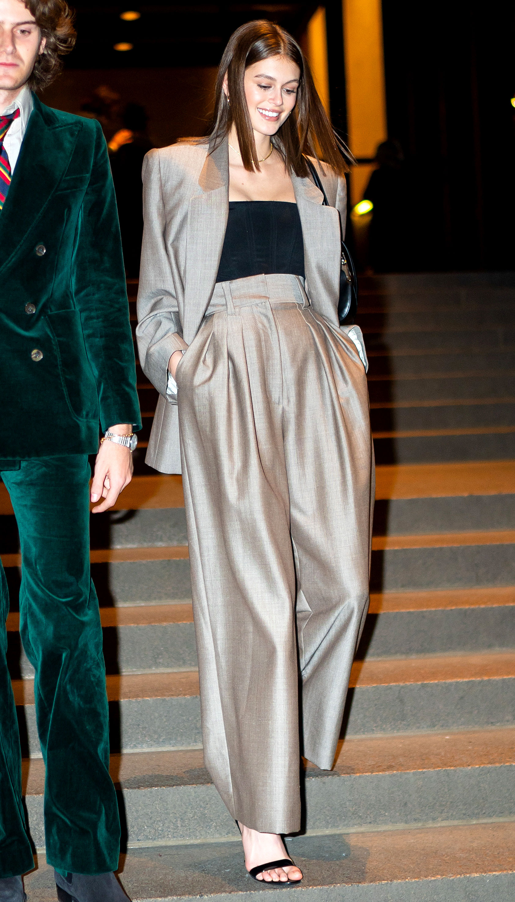 Marc-Jacob-and-Char-DeFrancesco-wedding-reception Kaia Gerber - Gerber looked gorgeous in a classic pantsuit.