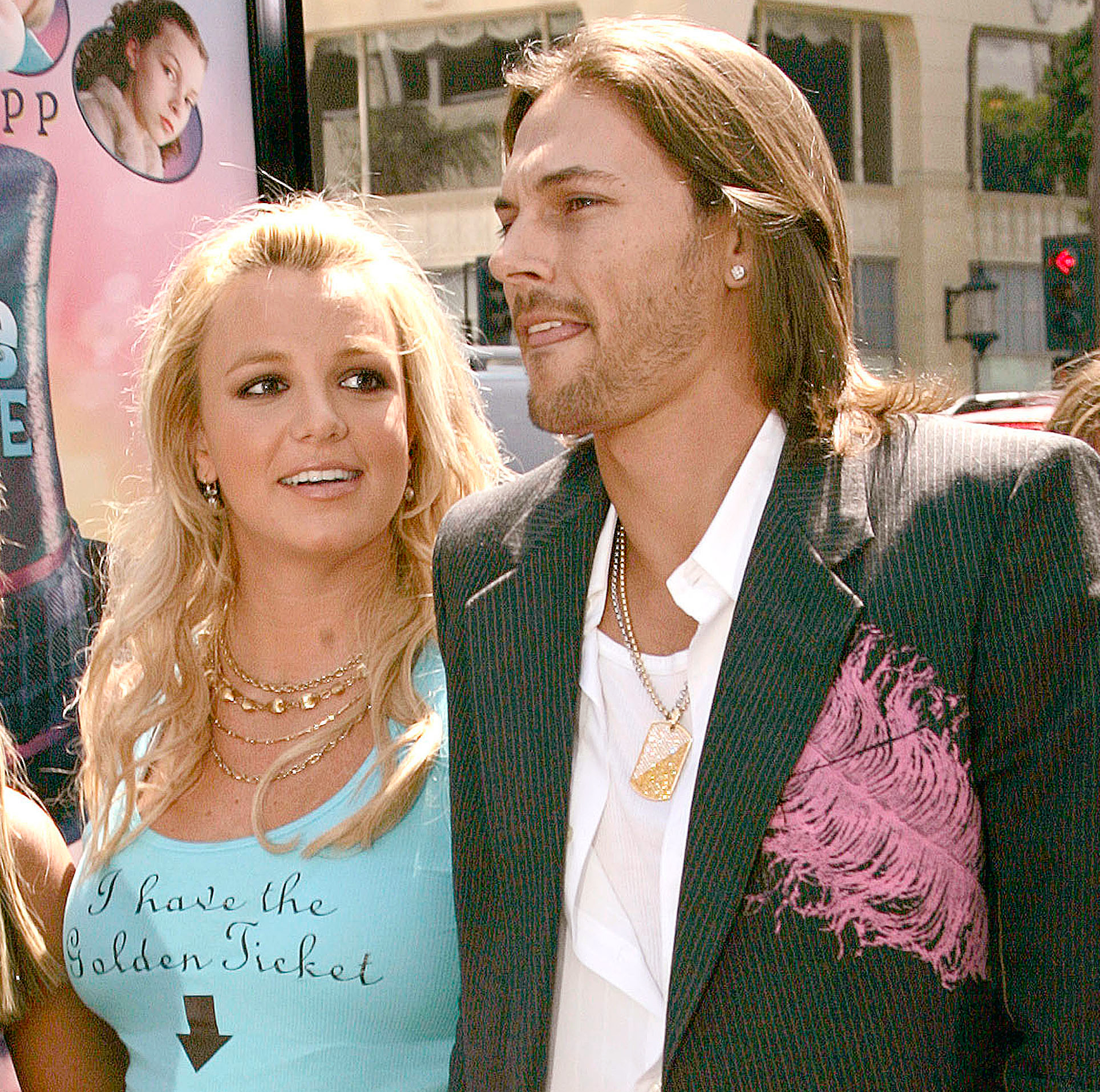 """March-2007-Kevin-Federline,-Britney-Spears - Four months later, the pair reached a settlement. A statement was issued by Federline's former lawyer, Michael Sands : """"The parties signed an agreement which was a global settlement on all issues of their marriage and child custody."""""""