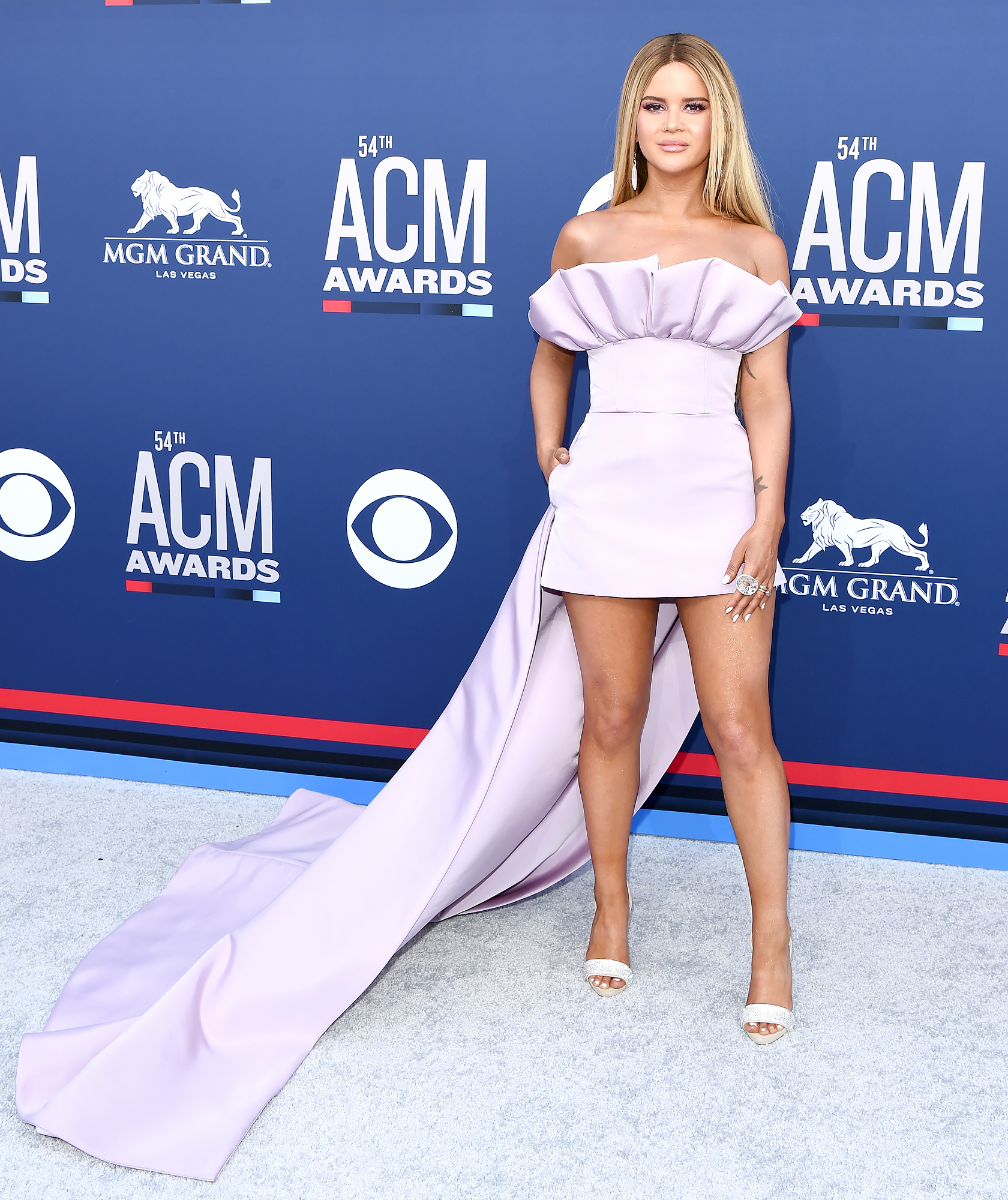 Maren-Morris-toned-legs-acms - Maren Morris attends the 54th Academy of Country Music Awards at MGM Grand Garden Arena on April 07, 2019 in Las Vegas, Nevada.
