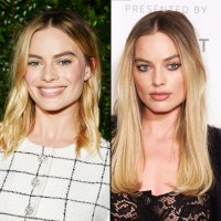 Margot Robbie hair transformation hairstyle