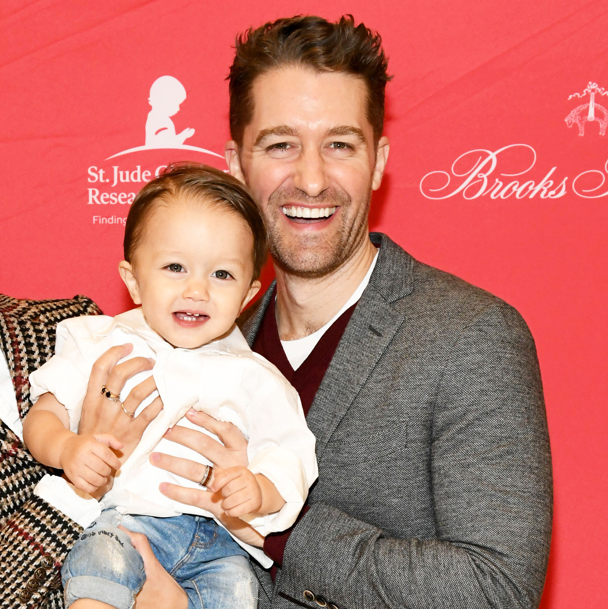 Matthew Morrison Reveals When He'll Let His Son Watch Him 'in His Prime' on 'Glee' - Renee Puente, Revel Morrison, and Matthew Morrison attend the Brooks Brothers And St Jude Children's Research Hospital Annual Holiday Celebration In New York City on December 18, 2018 in New York City.