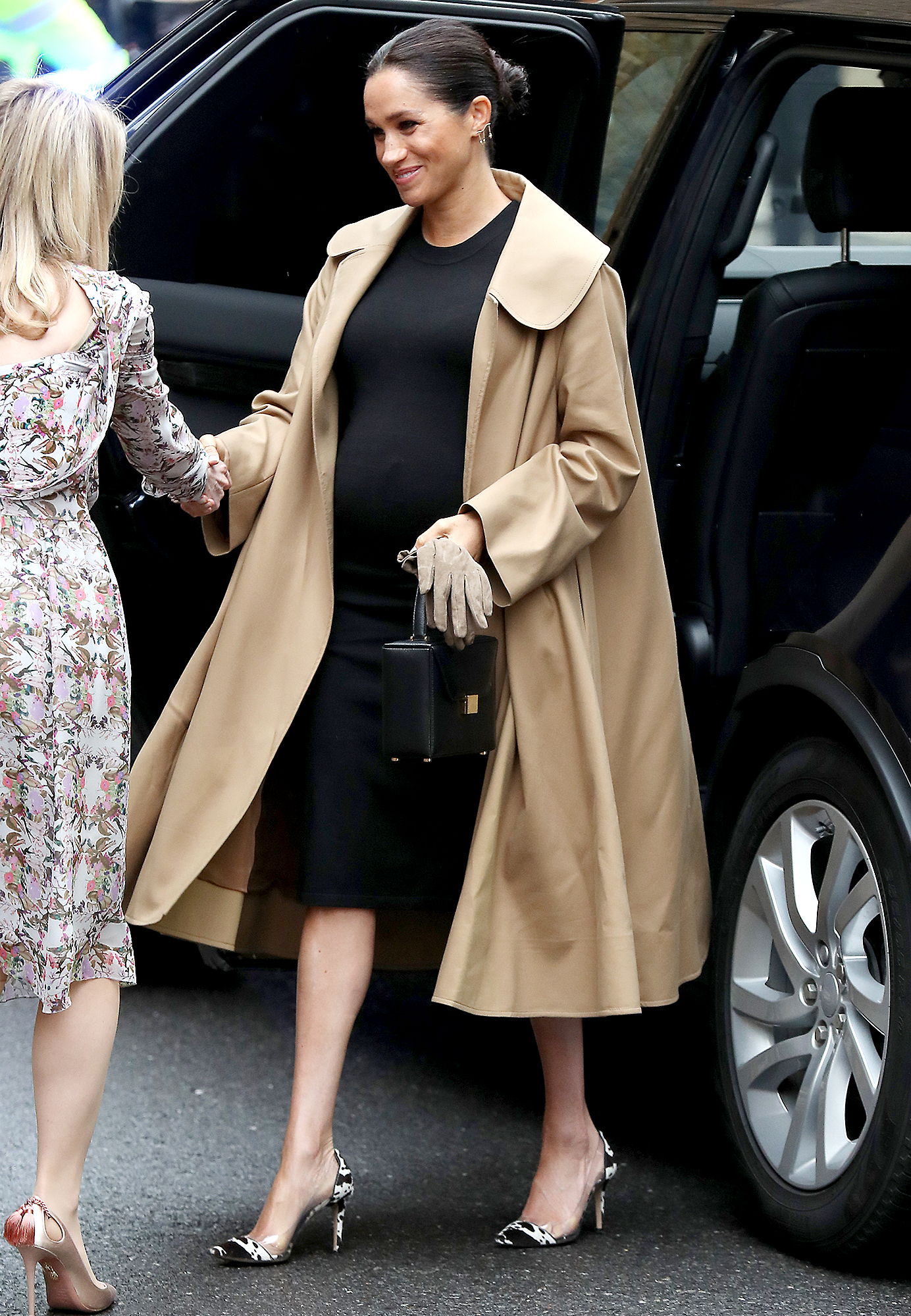 Meghan-Markle-Hatch-x-Nordstrom - Meghan, Duchess of Sussex visits Smart Works on January 10, 2019 in London, United Kingdom.