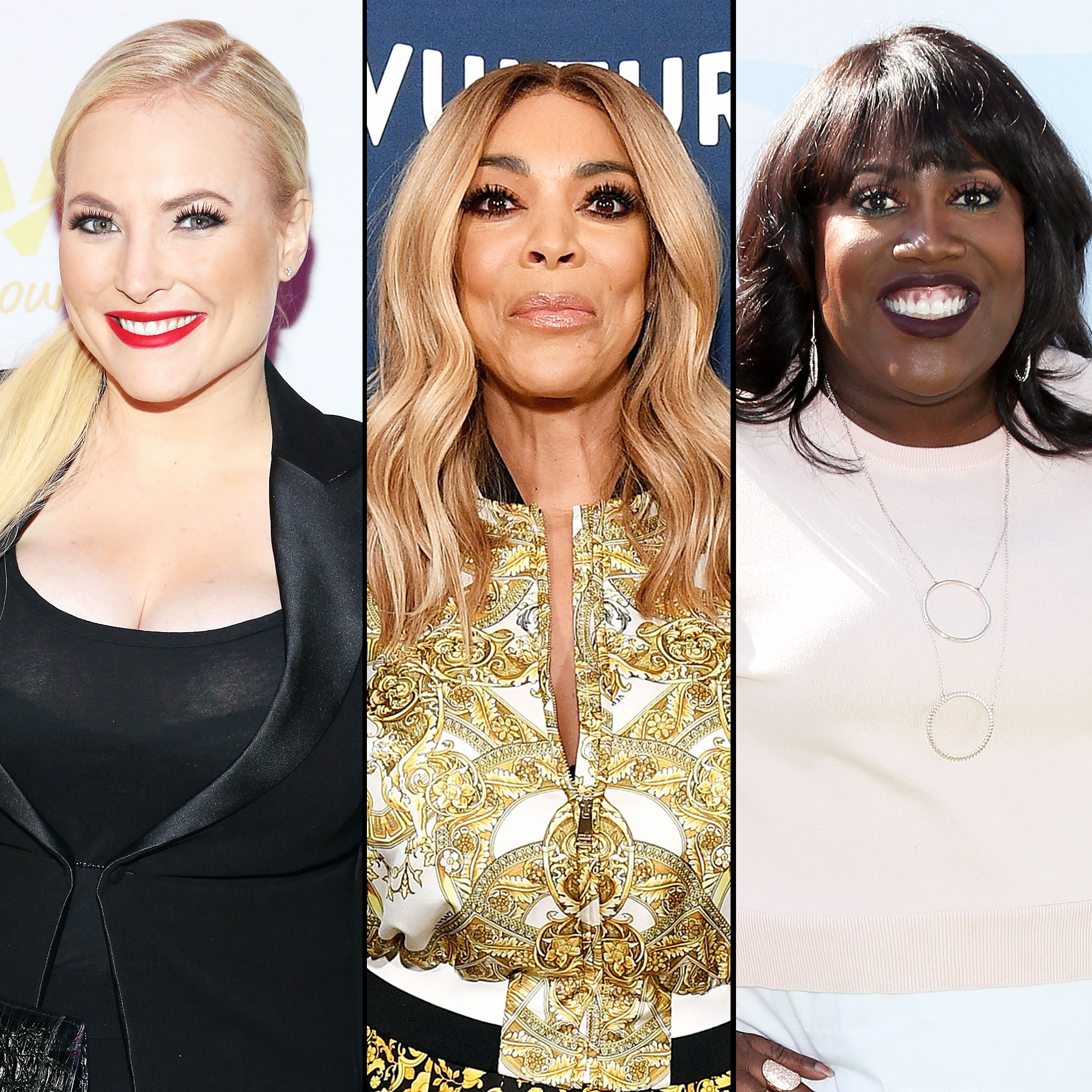 The View Meghan Mccain: Wendy Williams Gets Support From 'The View,' 'The Talk