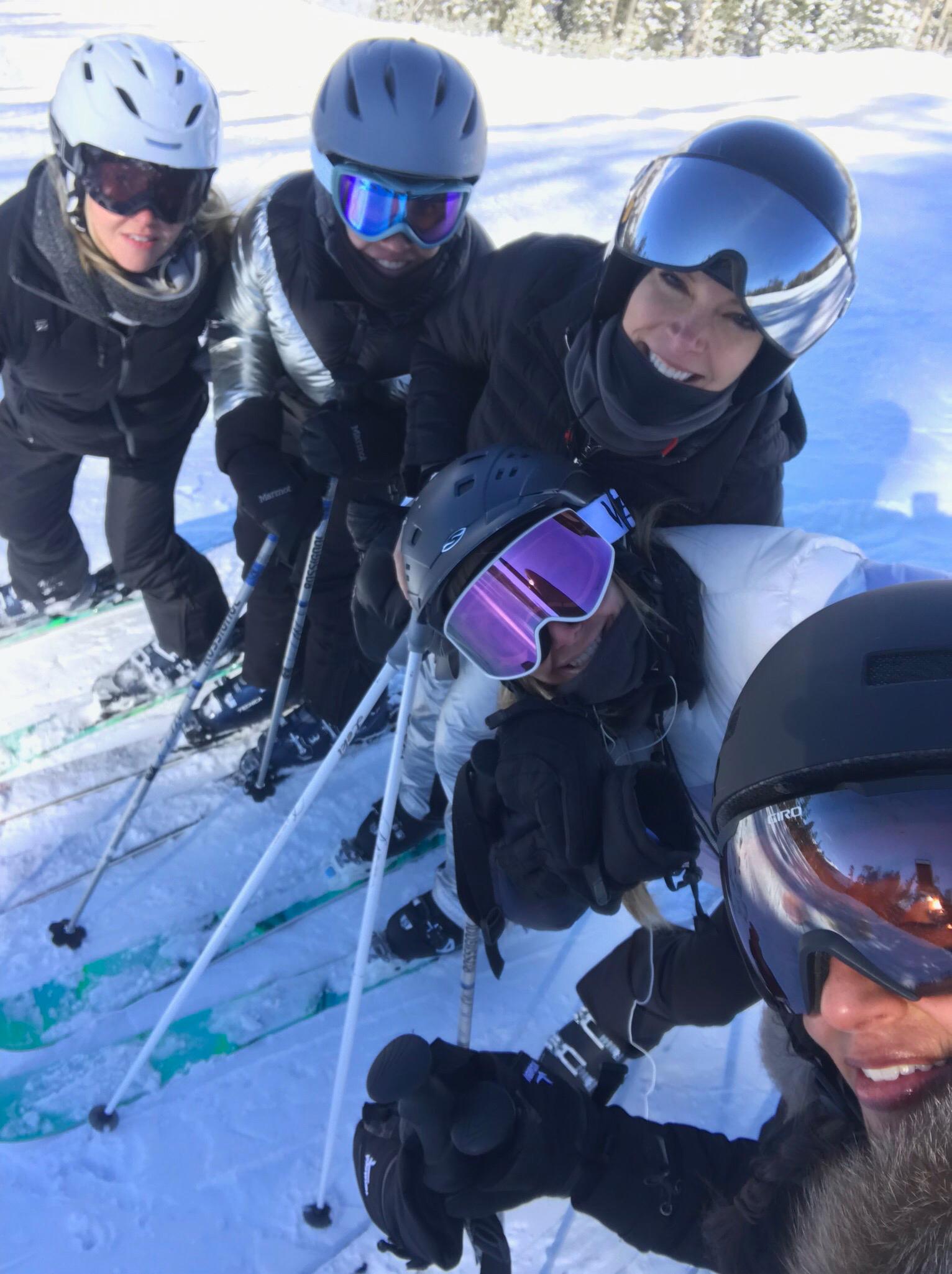 Megyn-Kelly-girls-ski-trip - Megyn Kelly and her friends on a ski trip