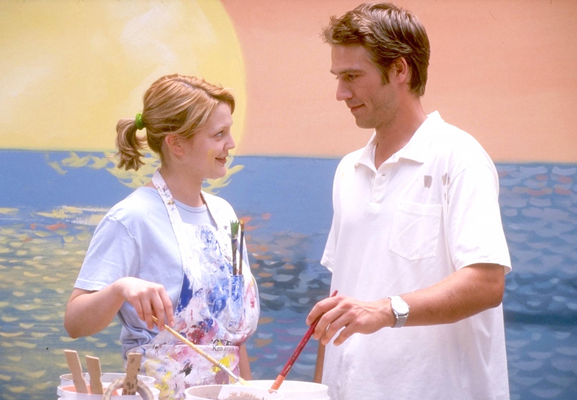Michael-Vartan-never-been-kissed - Drew Barrymore and Michael Vartan in Never Been Kissed