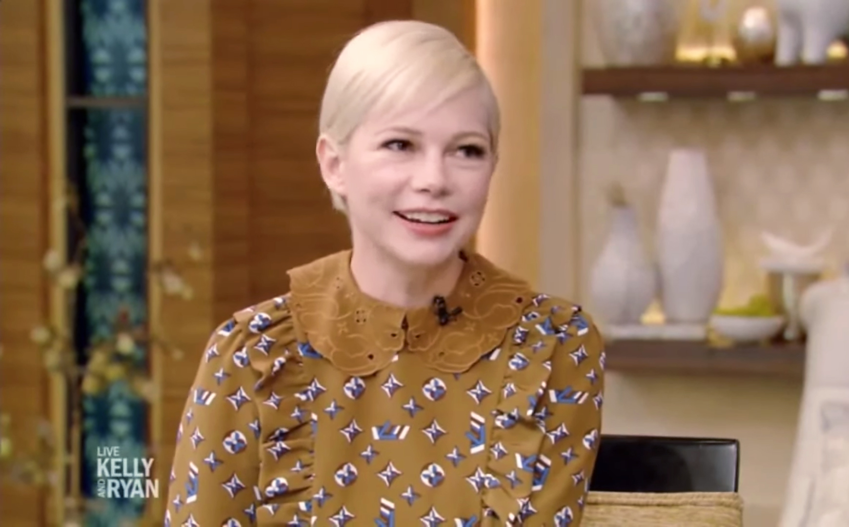 Michelle Williams Shares Update on Daughter Matilda on Heath Ledger's 40th Birthday - Michelle Williams on Live with Kelly and Ryan.