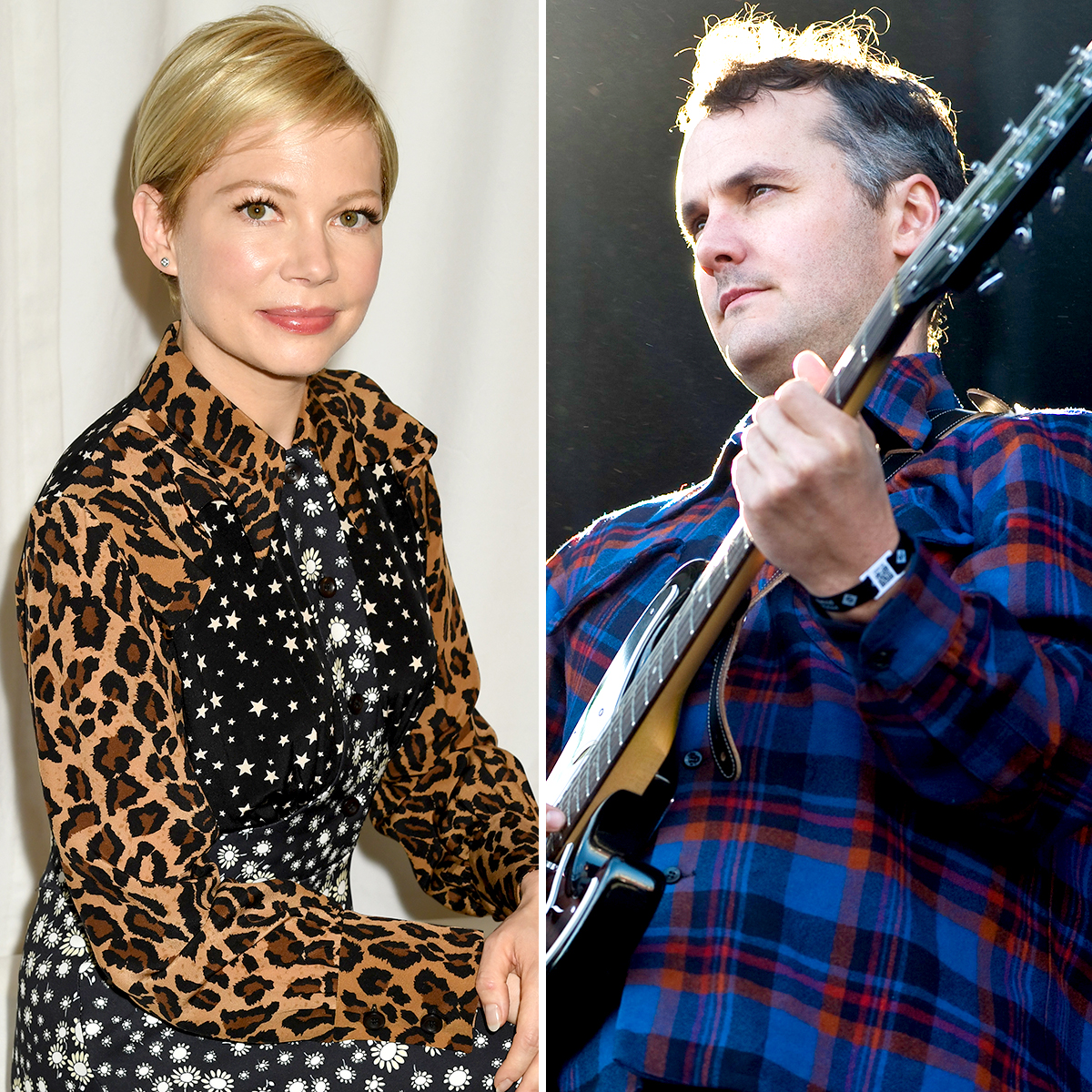 Michelle-Williams-and-Phil-Elverum-Split - Less than a year after surprising fans by secretly tying the knot in a private ceremony, the Oscar nominee and the former The Microphones frontman called it quits. News broke of their split in April 2019.