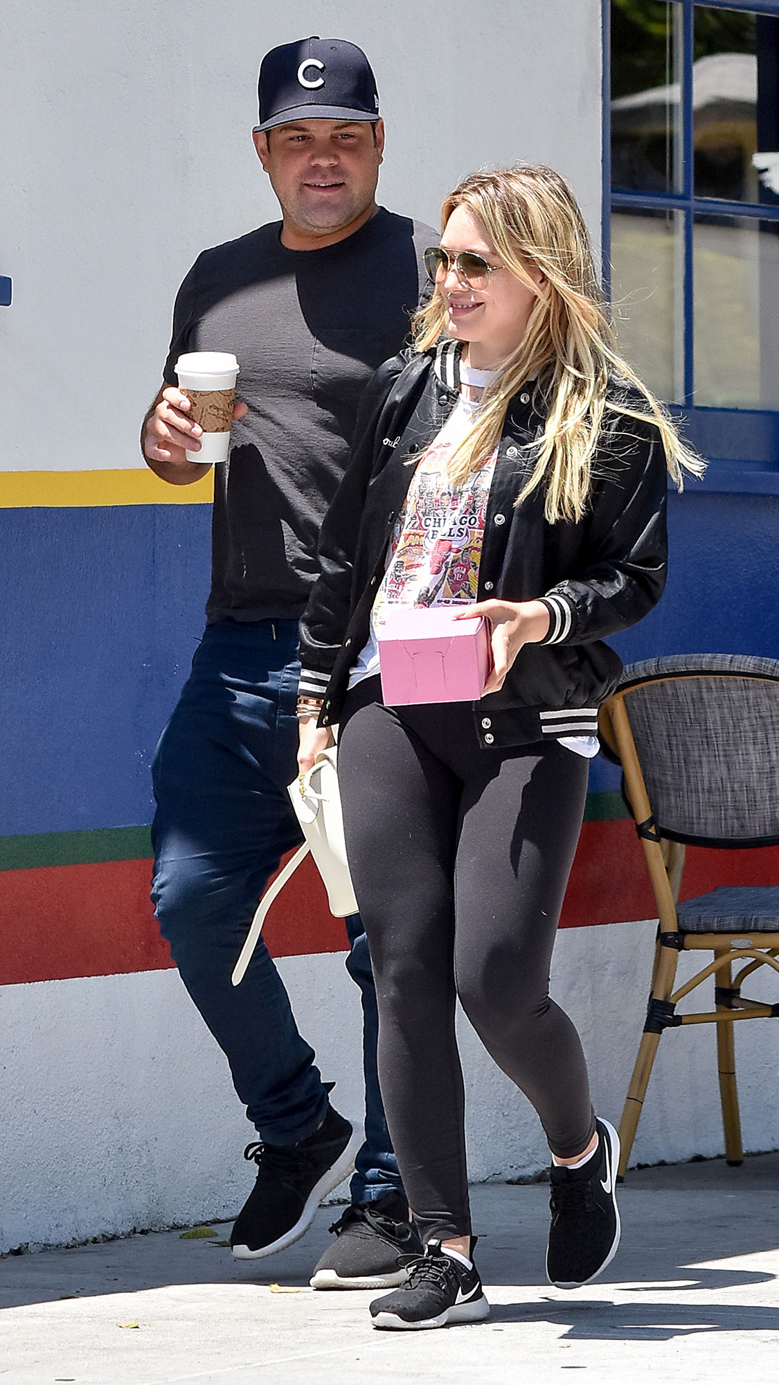 Mike Comrie and Hilary Duff - Mike Comrie and Hilary Duff are seen on July 03, 2017 in Los Angeles, California.