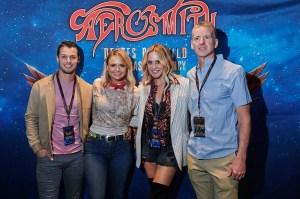Miranda Lambert and Brendan McLoughlin Have a Date Night at Aerosmith's Las Vegas Residency