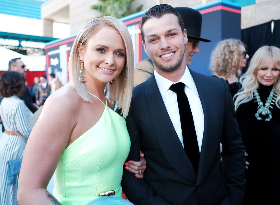 Miranda Lambert Brendan McLoughlin Red Carpet Debut ACM Awards 2019