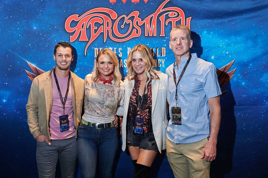 Miranda Lambert and Brendan McLoughlin Aerosmith Vegas