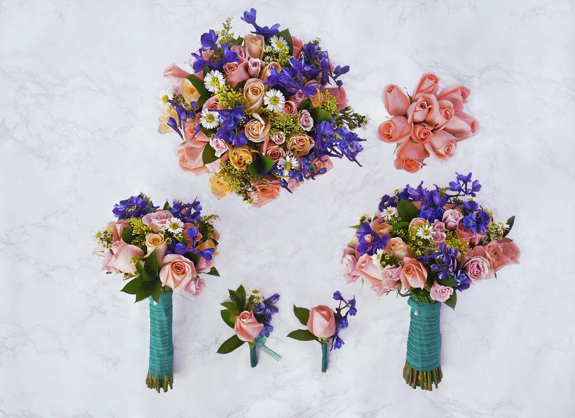 Monique Lhuillier x Bouqs Company Wedding Flowers: Details