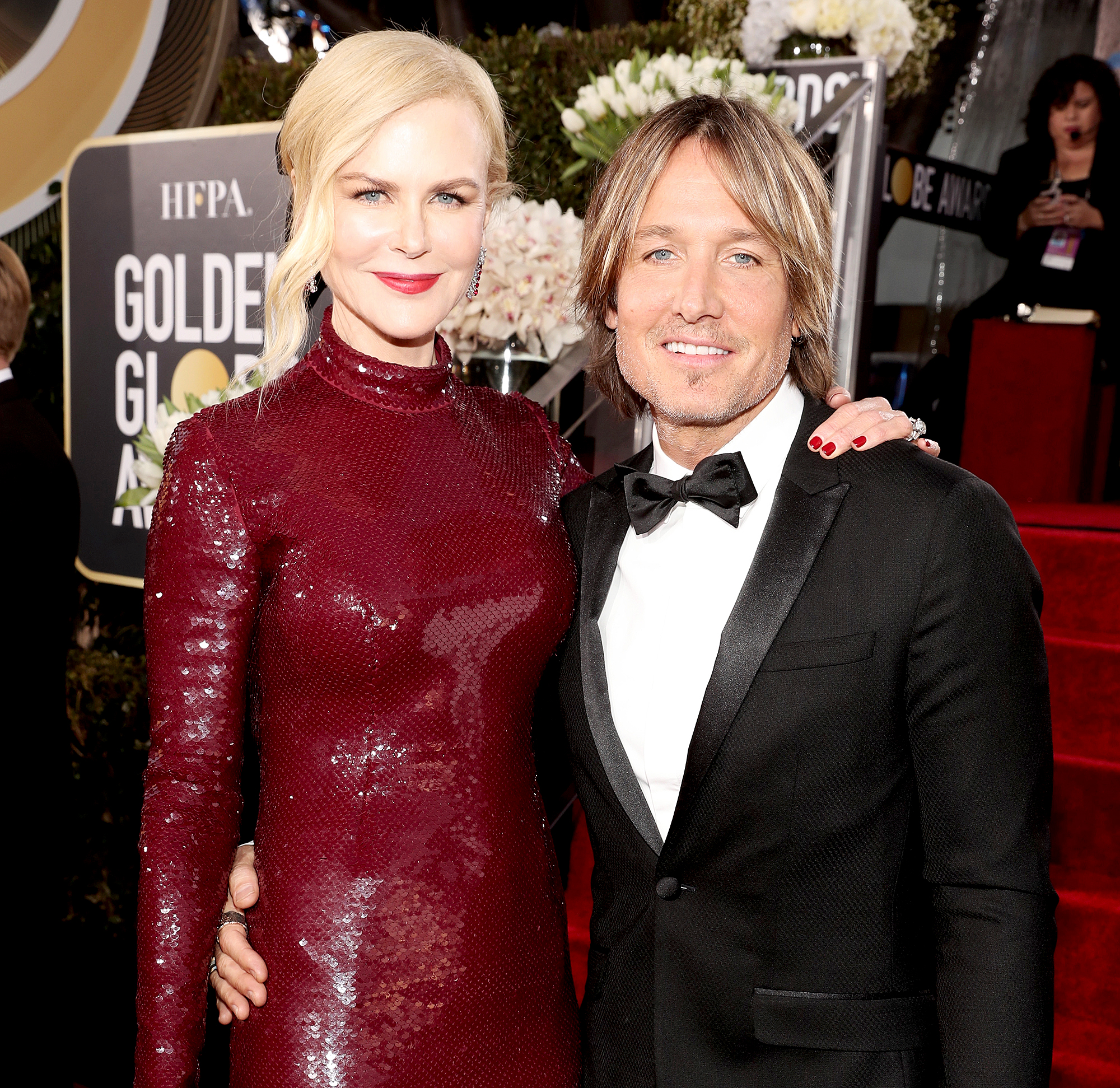 Nicole-Kidman-Keith-Urban - Nicole Kidman and Keith Urban arrive to the 76th Annual Golden Globe Awards held at the Beverly Hilton Hotel on January 6, 2019.