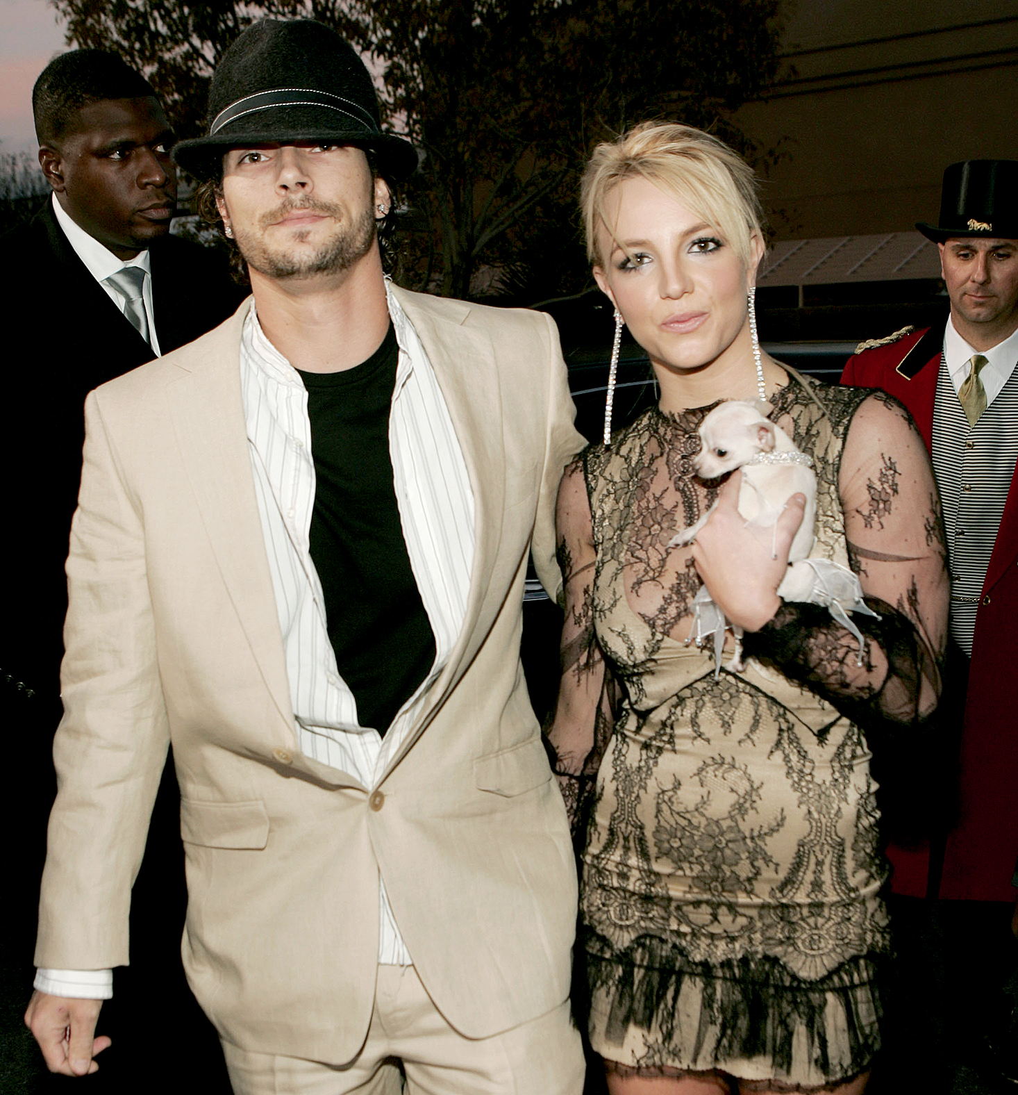 """November-2006-Kevin-Federline,-Britney-Spears - Things ended between the duo when the Crossroads star filed for divorce in November 2006, citing """"irreconcilable differences."""" In her initial filing, Spears asked for legal and physical custody of her two sons, with Federline to receive """" reasonable visitation rights ."""""""