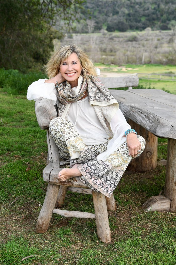 280683d57 Olivia Newton-John on Staying Positive Amid Cancer Battle