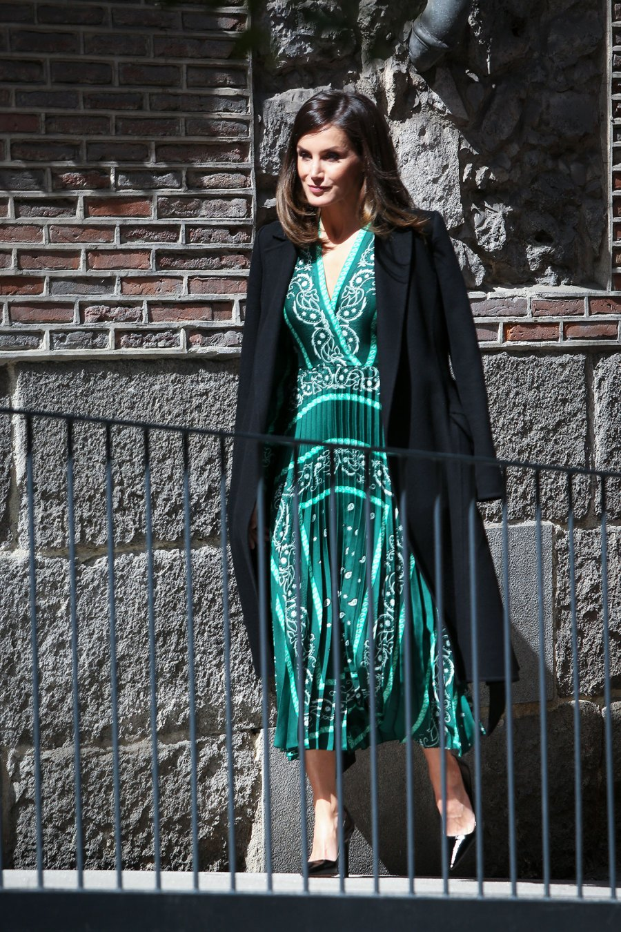 Queen Letizia Shows Us How to Style a Winter Dress for Spring