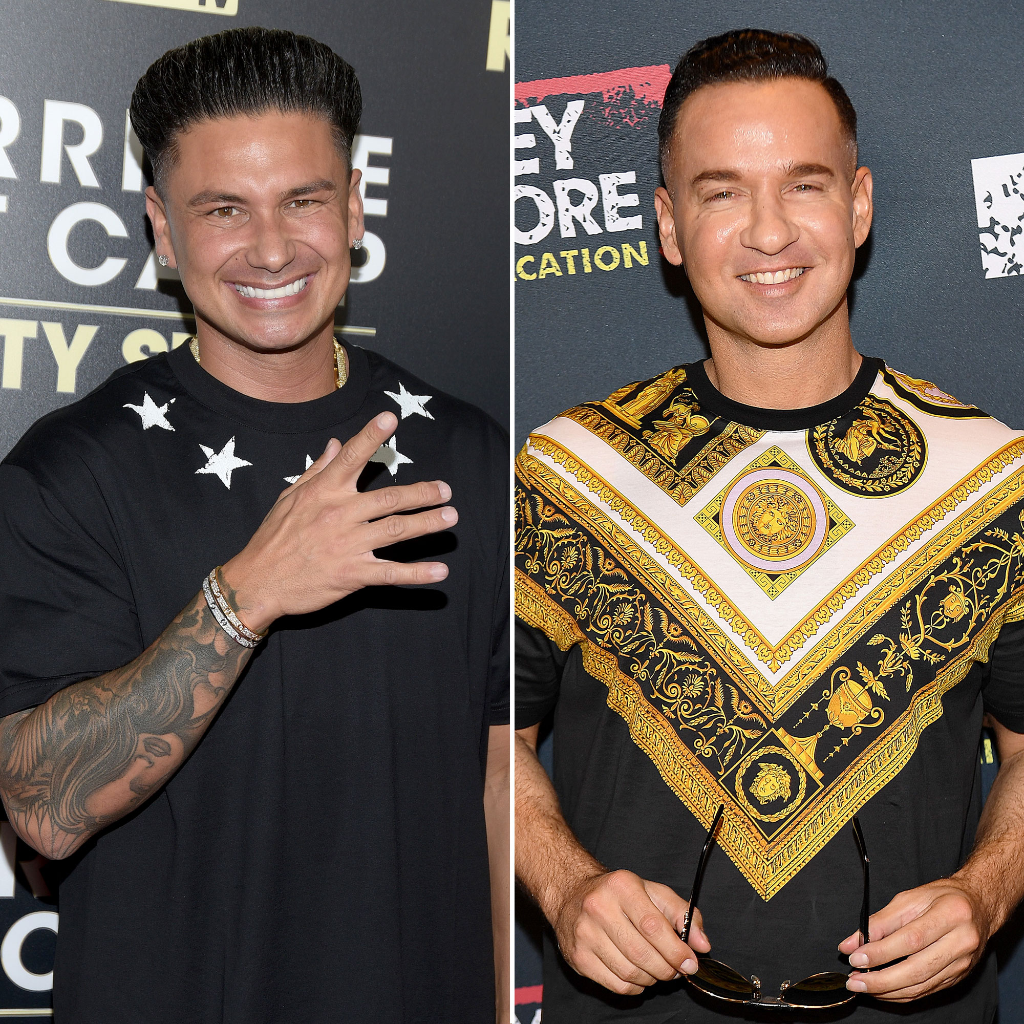 Pauly D and Mike Sorrentino Scrabble in Jail Split - Pauly D and Mike Sorrentino