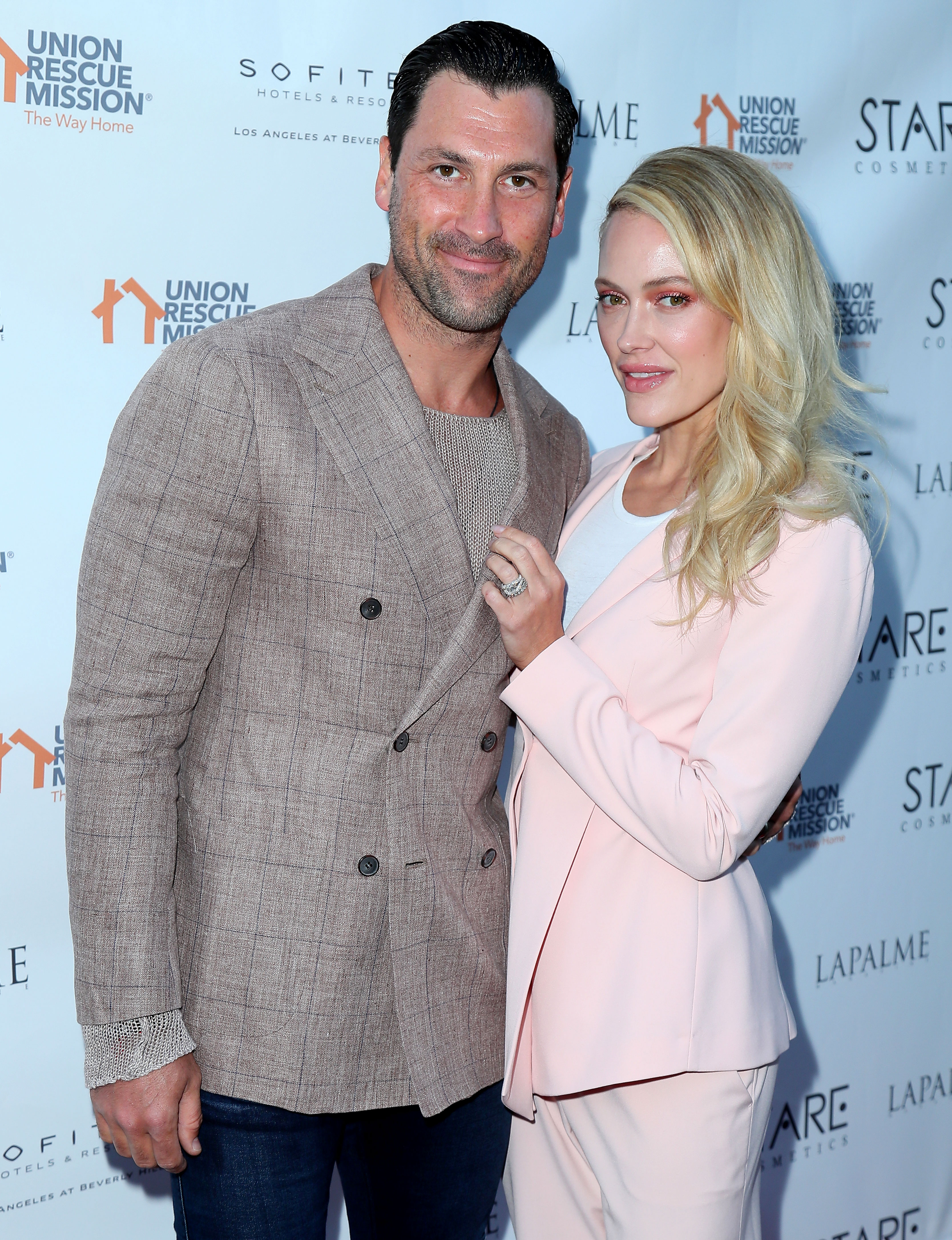 Peta Limbo at Val Jenna Wedding - Maks Chmerkovskiy and Peta Murgatroyd attend Lapalme Magazine's Party For Cover Stars Anthony Anderson And Meagan Good at Sofitel Los Angeles At Beverly Hills on April 16, 2019 in Los Angeles, California.
