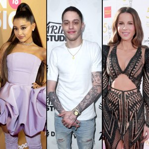 Pete Davidson and Ariana Grande and Kate Beckinsale Walkout Comedy Club