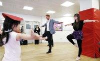 Prince Harry Ballet Class