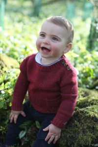 Prince Louis Celebrates 1st Birthday With Absolutely Adorable New Photos