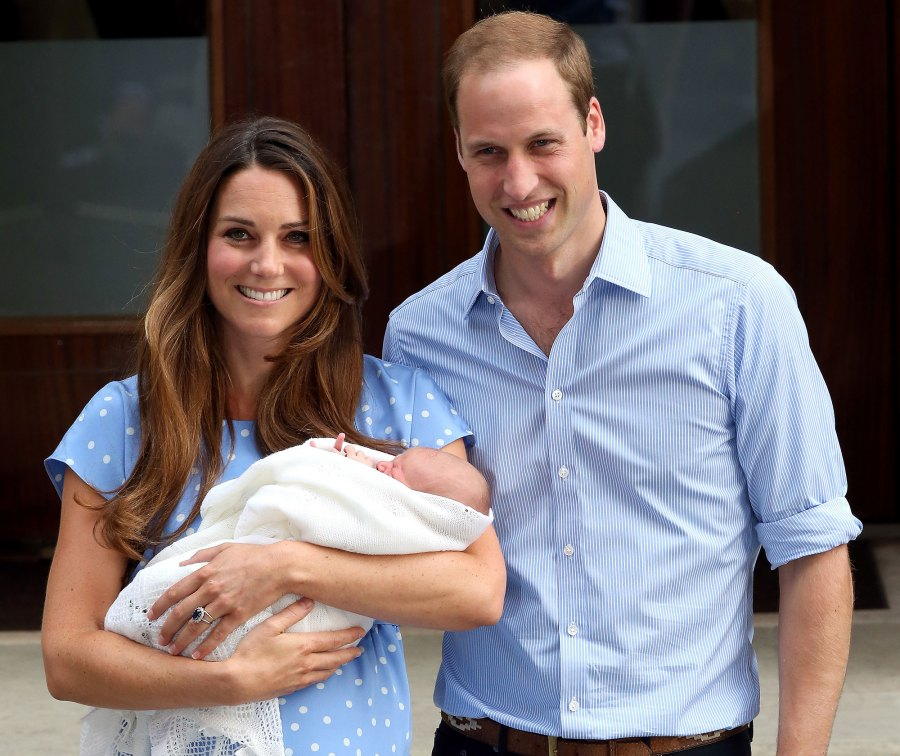 Prince William and Duchess Kate Relationship Timeline 2013 Prince George Birth