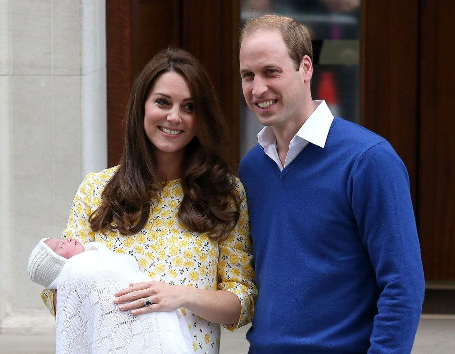 Prince William and Duchess Kate Relationship Timeline 2015 Princess Charlotte Birth