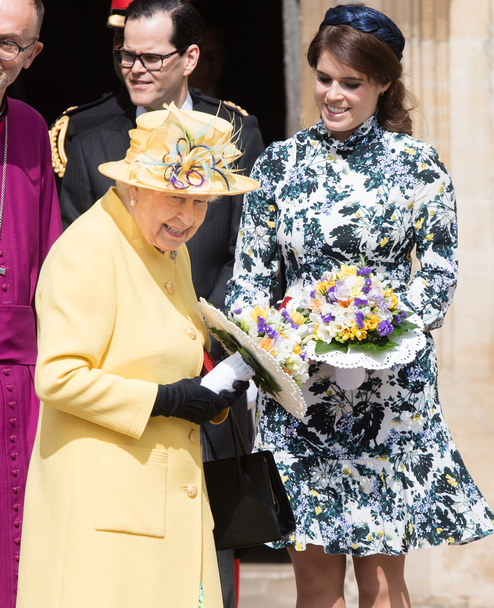 Princess Eugenie Returns to Scene of Her Wedding - The important event always takes place on the Thursday before Easter.