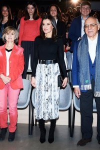 Queen Letizia Expertly Shows the Chicest Way to Wear Animal Print
