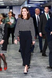 Queen Letizia Is Bringing Back a Major Print Trend