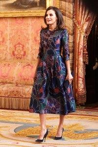 Queen Letizia of Spain Spring Florals