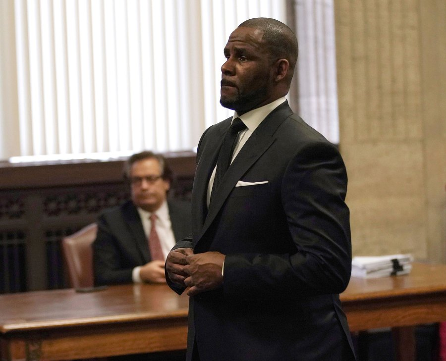 R Kelly in Court