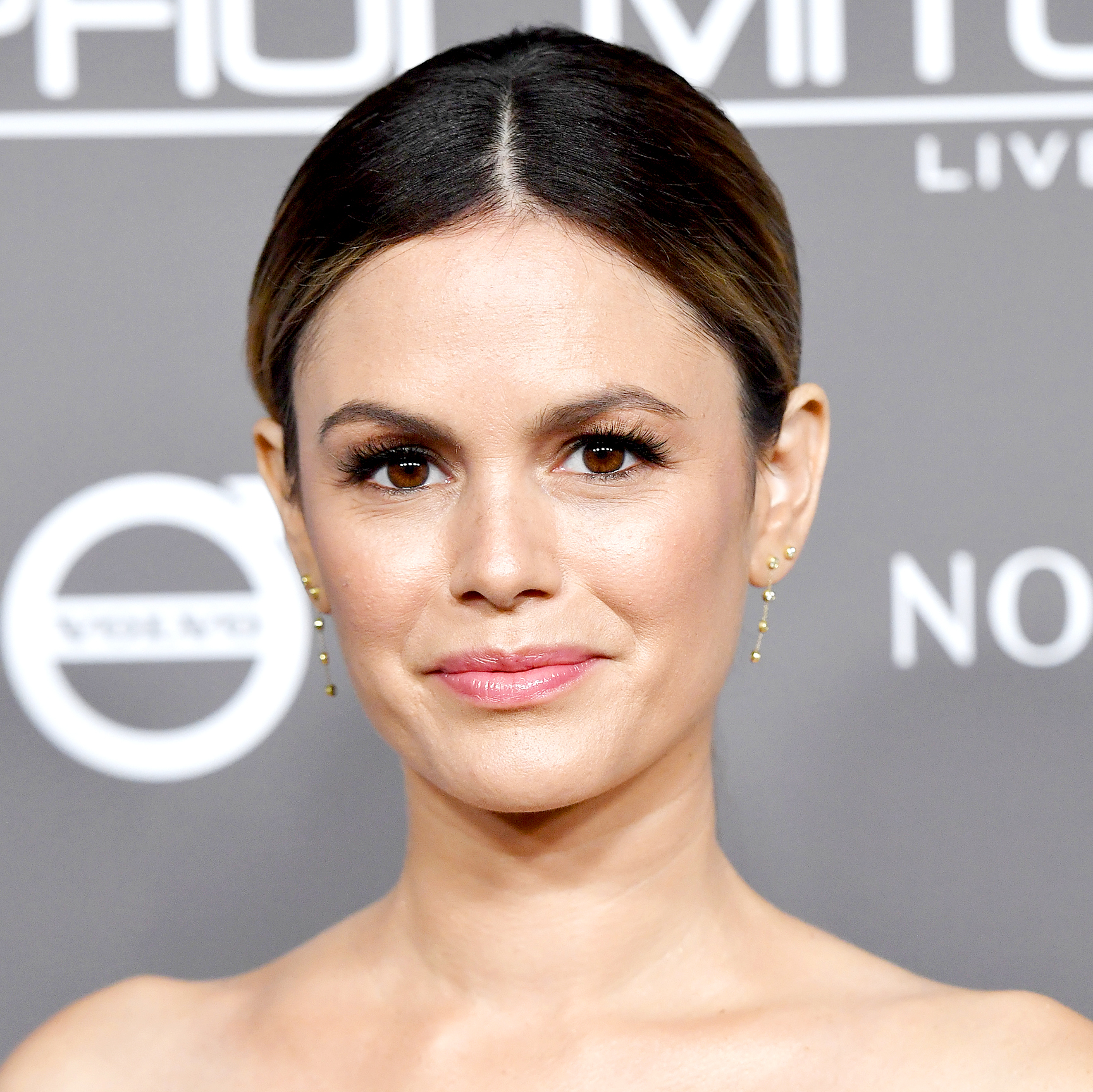 Rachel-Bilson - The O.C. alum's emojis said it all: She replied with three kissing faces, an ice cream cone and a strong arm.