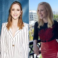 Rachel Brosnahan blonde hair tranformation