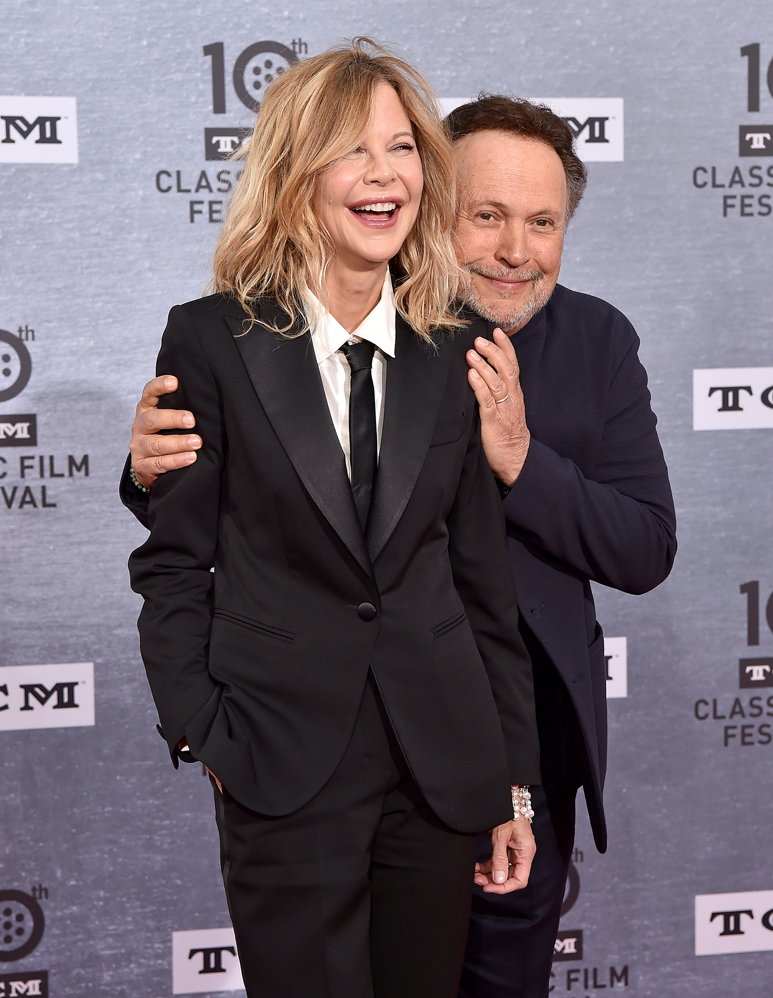Rob Reiner Meg Ryan Billy Crystal When Harry Met Sally - Meg Ryan and Billy Crystal attend the 2019 TCM Classic Film Festival Opening Night Gala and 30th Anniversary Screening of 'When Harry Met Sally' at TCL Chinese Theatre on April 11, 2019 in Hollywood, California.