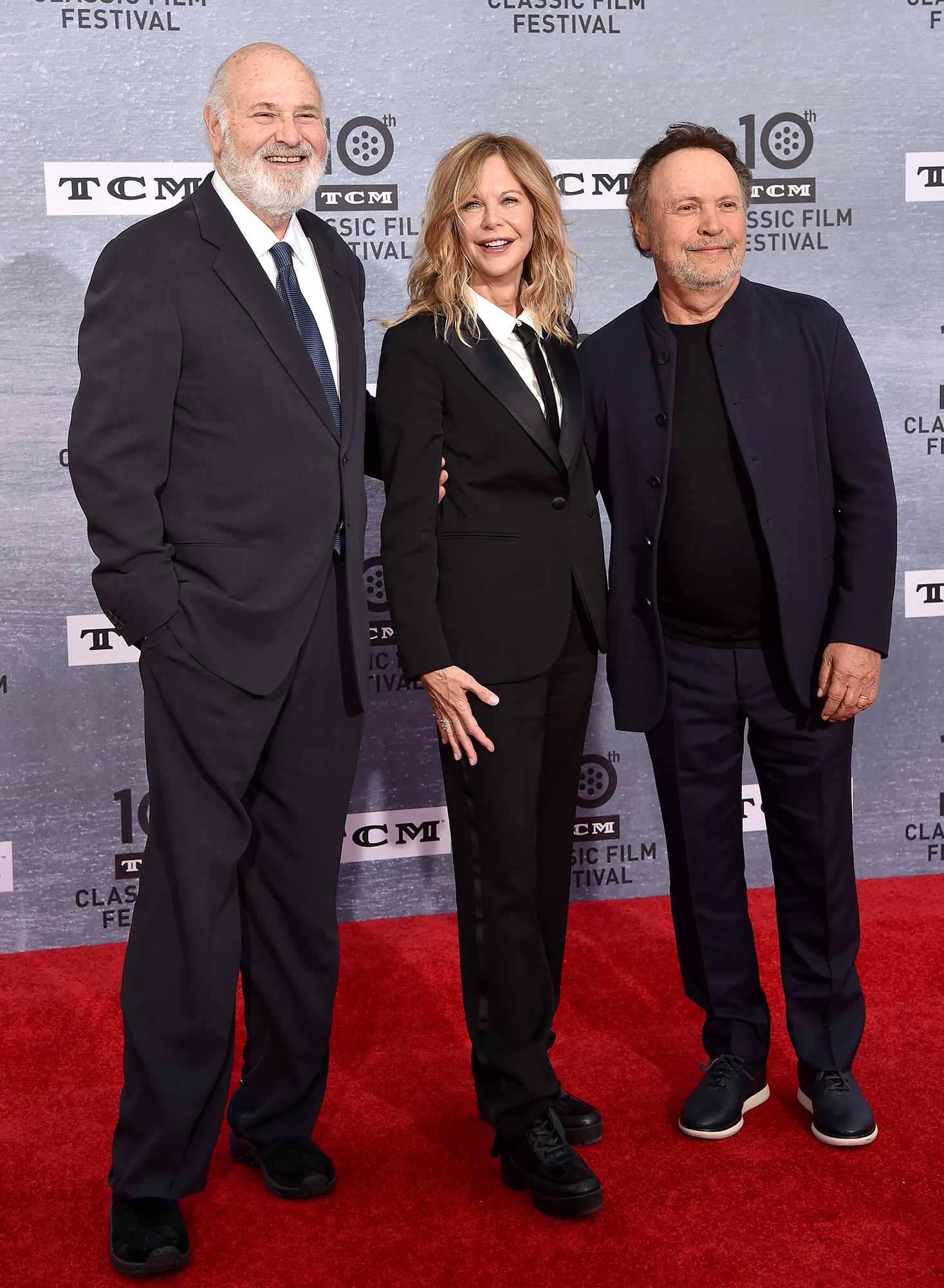 "Rob Reiner Meg Ryan Billy Crystal When Harry Met Sally - ""When we came on, the script totally changed from what we had agreed to do,"" Crystal said of his and Ryan's collaborative approach to starring in the romantic comedy."
