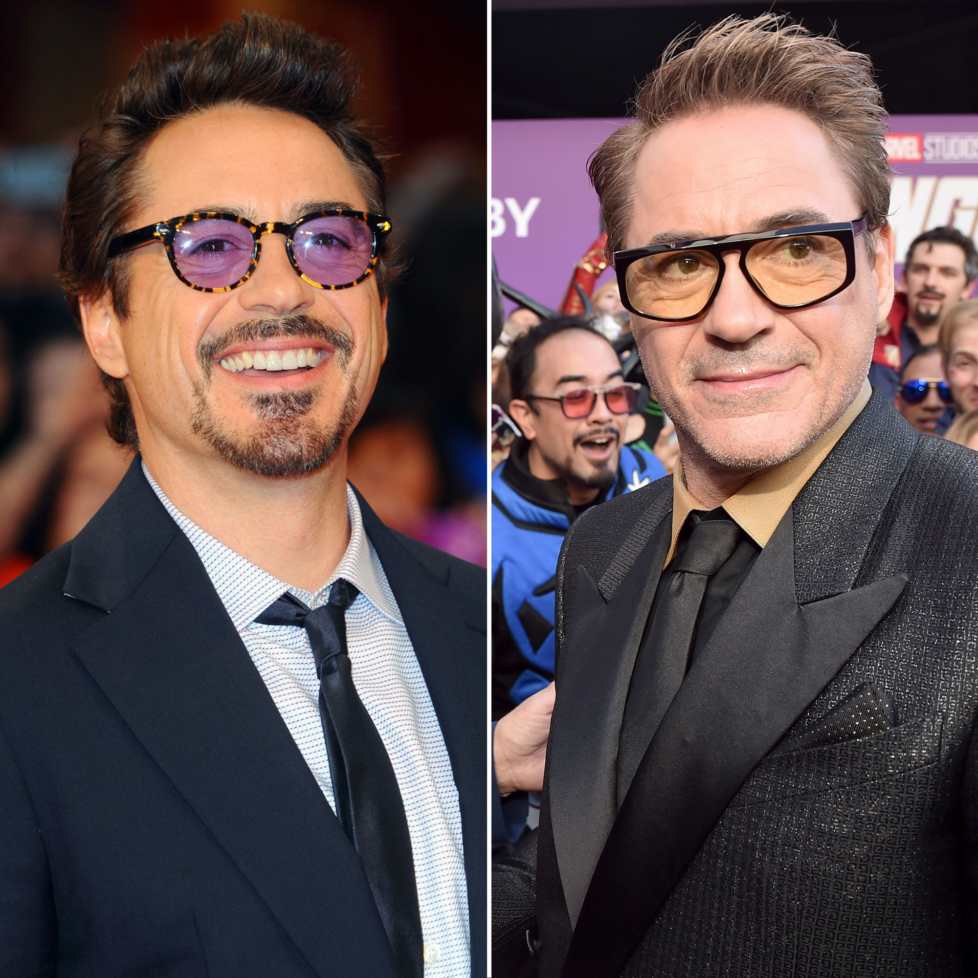 Robert Downey Jr Avengers Premiere First Super Red Carpet to Their Last - LONDON – APR 19: Robert Downey Jr attends the Marvel Avengers Assemble European Premiere on April 19, 2012 at the Vue Cinema, Westfield Shepards Bush in London. (Photo by Anthony Harvey/Getty Images)