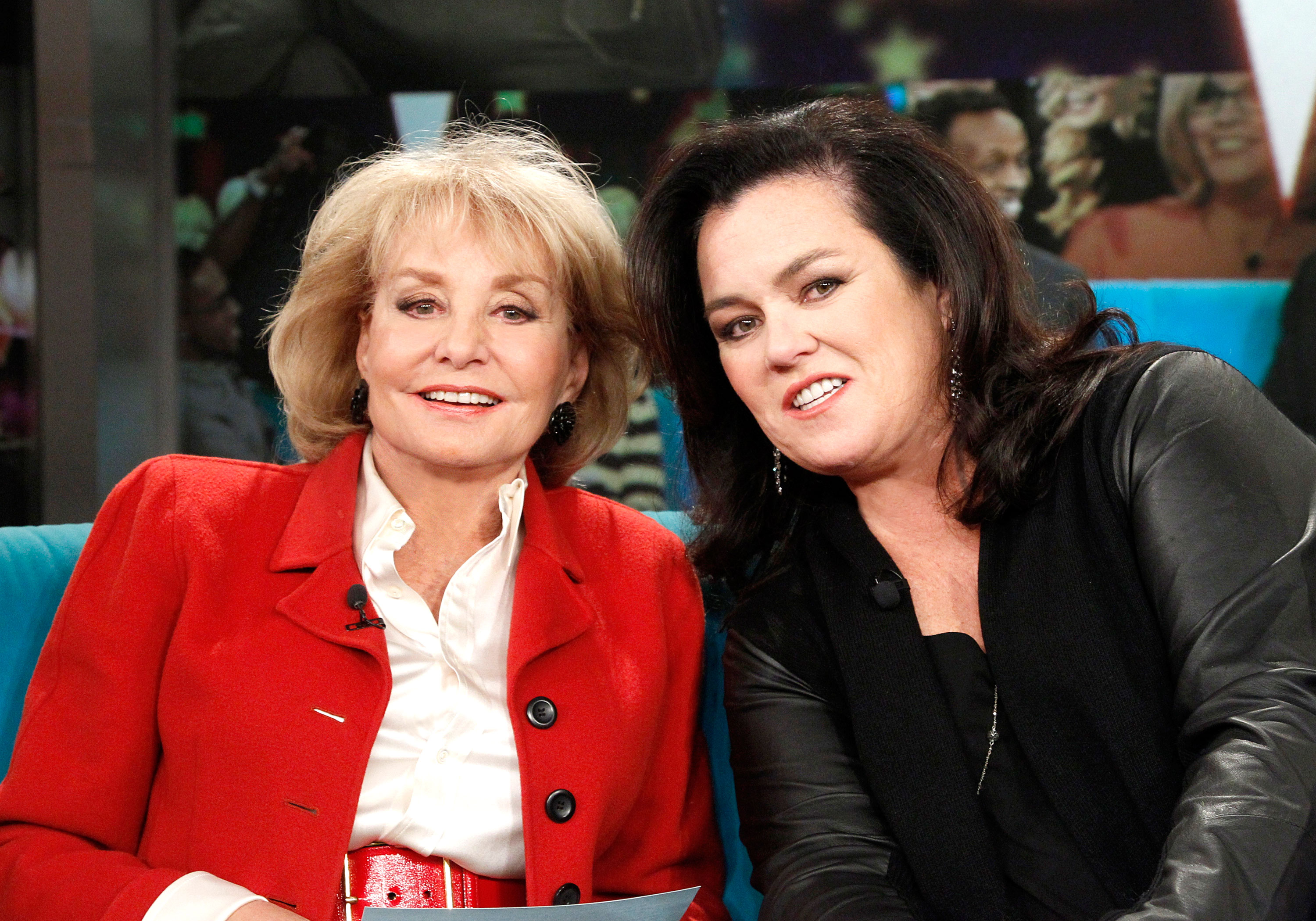 Rosie O'Donnell Says Participating in 'The View' Book Is Her 'Biggest Regret' - Barbara Walters and Rosie O'Donnell on 'The View'.